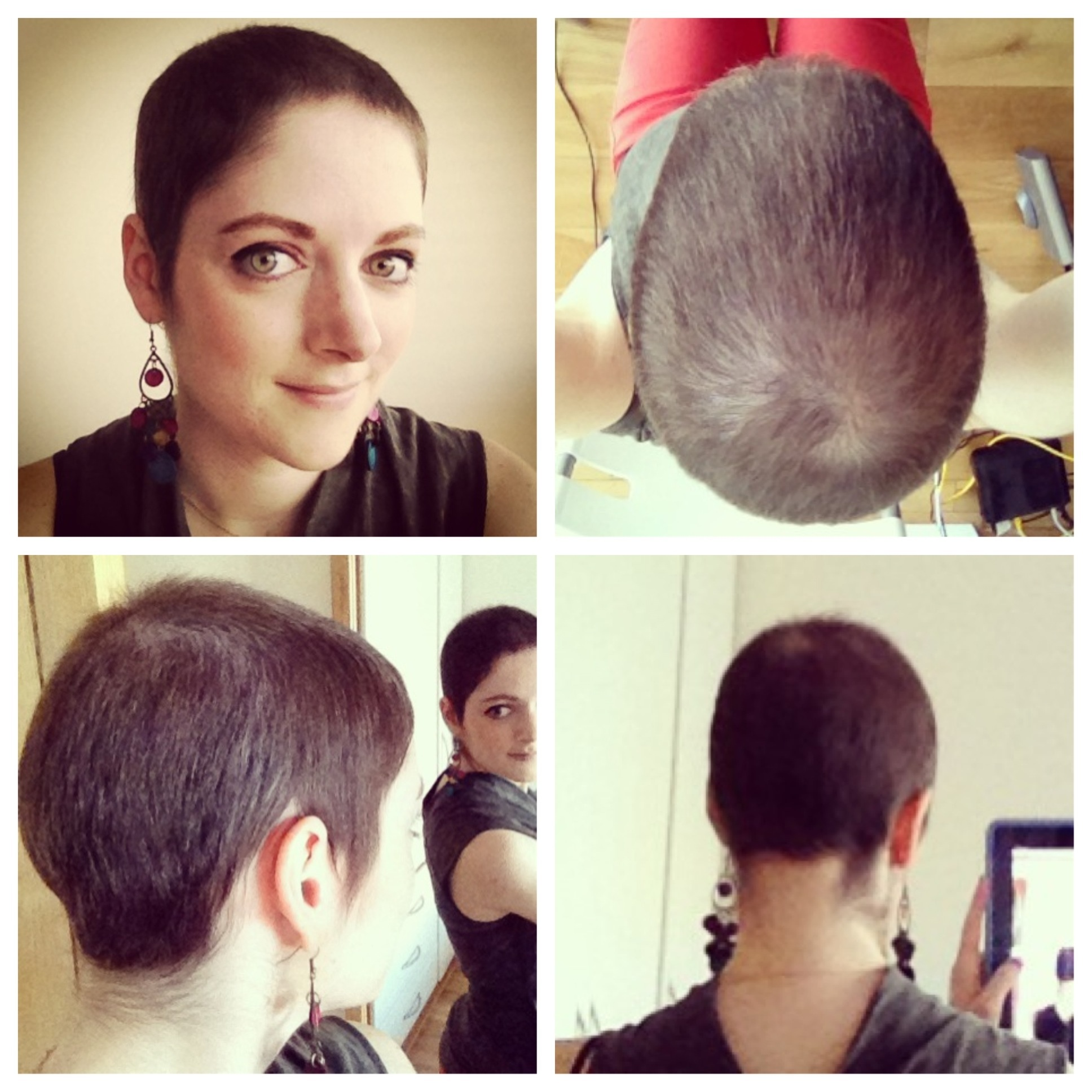 Hairstyles For Growing Out Chemo Hair